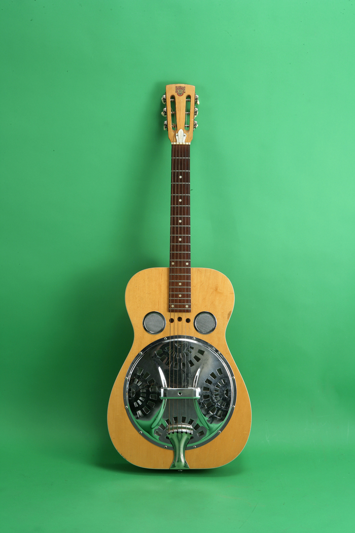 dobro resonator 1973 natural guitar for sale jay rosen music. Black Bedroom Furniture Sets. Home Design Ideas