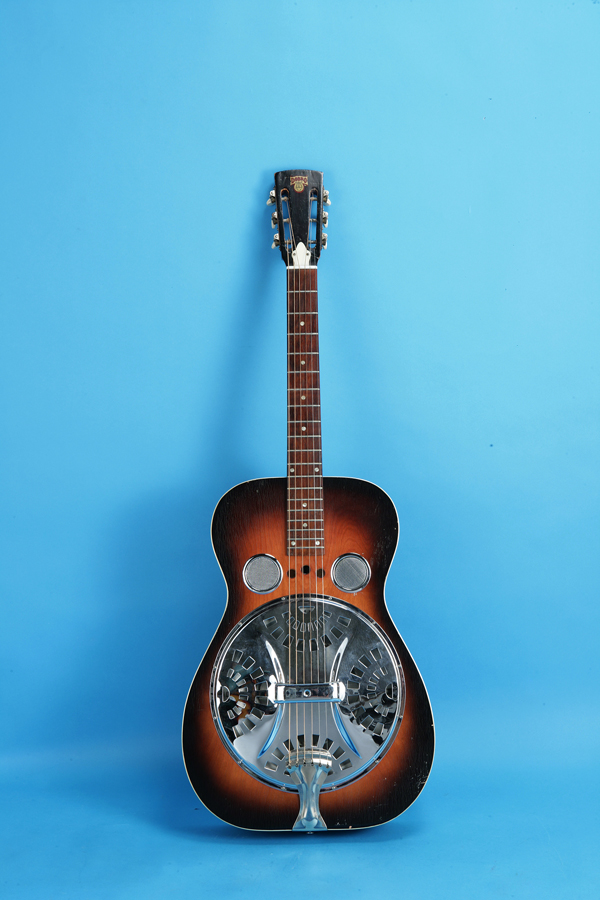 dobro model 60 1973 sunburst guitar for sale jay rosen music. Black Bedroom Furniture Sets. Home Design Ideas