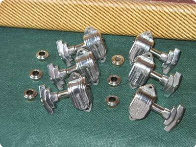 Grover Imperial 50s   '60s  Tuner Set   Chrome 1960 Chrome