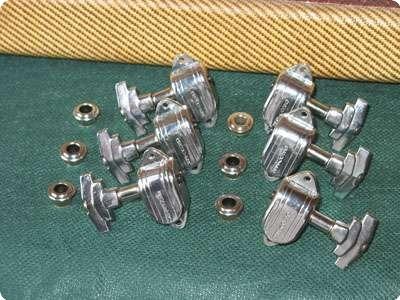 grover imperial 50s 39 60s tuner set chrome 1960 chrome guitar for sale real vintage. Black Bedroom Furniture Sets. Home Design Ideas