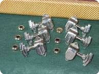Grover Imperial 50s 60s TUNER SET CHROME 1960 Chrome