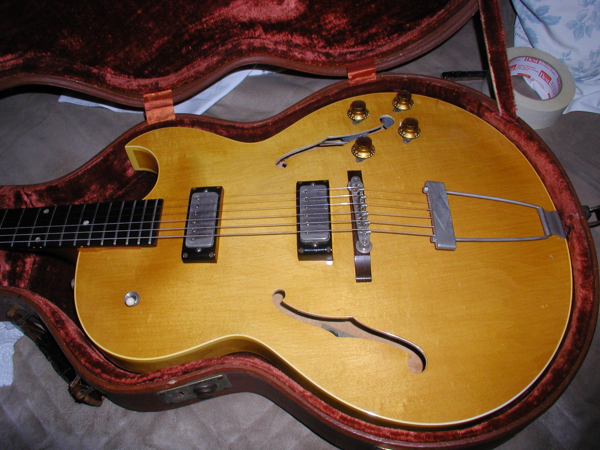 epiphone sorrento 1961 natural guitar for sale ok guitars. Black Bedroom Furniture Sets. Home Design Ideas