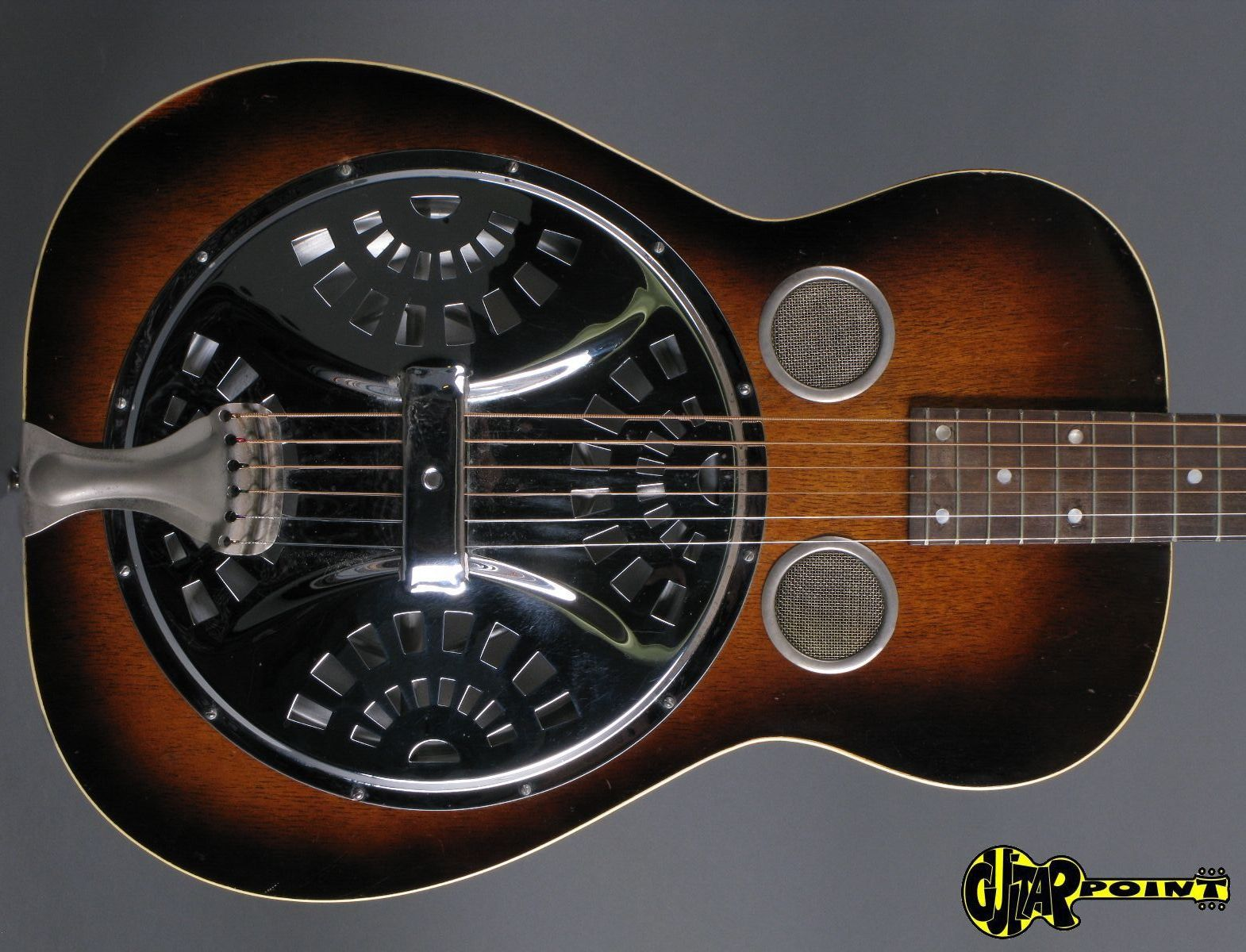 dobro model 36s 1932 sunburst guitar for sale guitarpoint. Black Bedroom Furniture Sets. Home Design Ideas