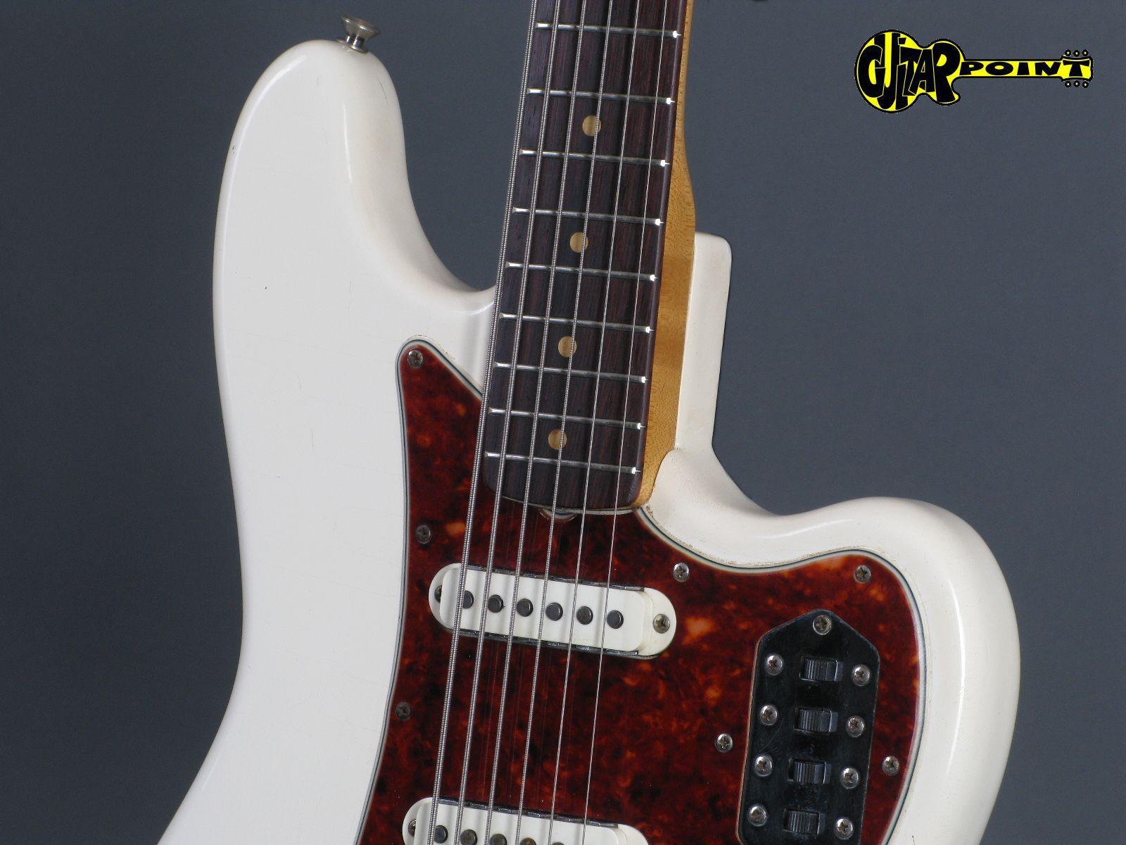 fender bass vi 1963 olympic white guitar for sale guitarpoint. Black Bedroom Furniture Sets. Home Design Ideas