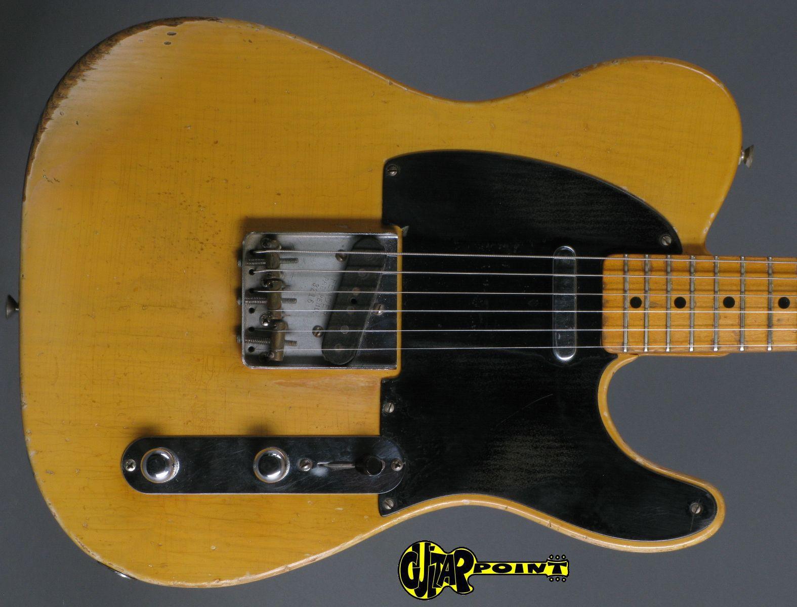 fender telecaster 1952 blond guitar for sale guitarpoint. Black Bedroom Furniture Sets. Home Design Ideas