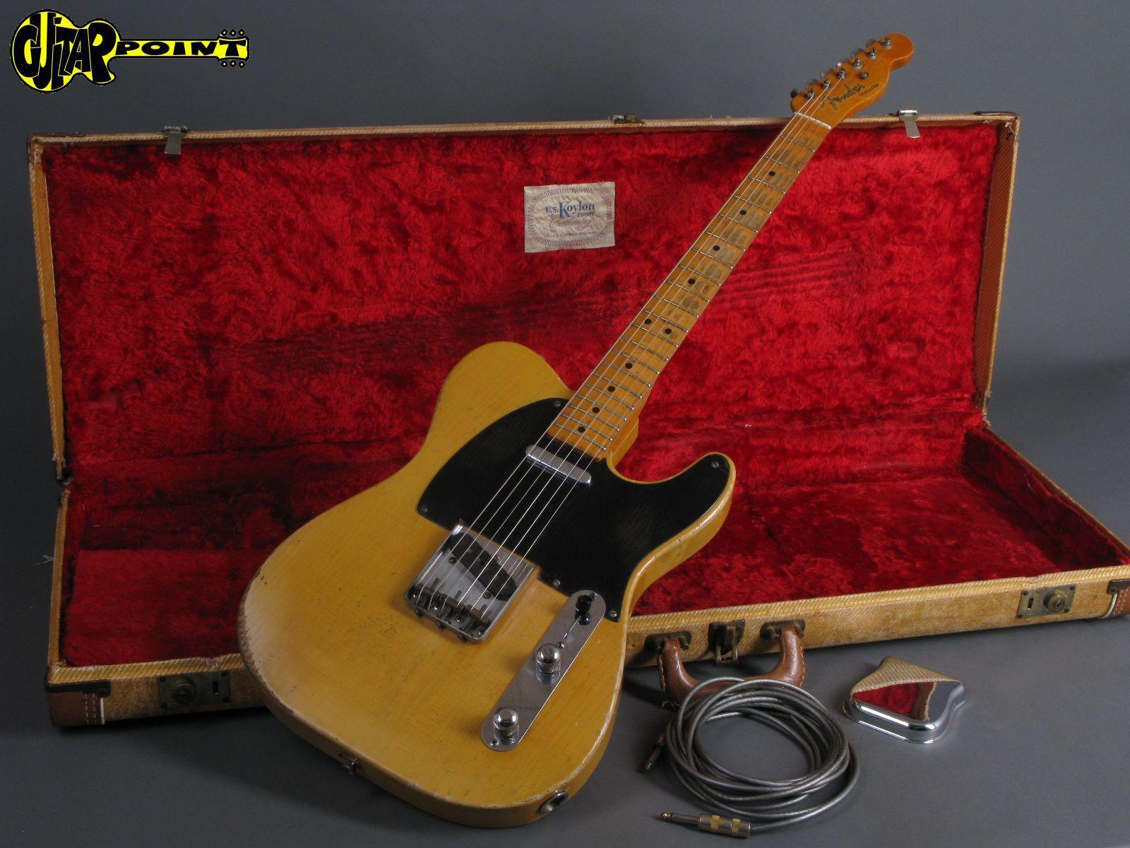 Fender Telecaster 1952 Blond Guitar For Sale Guitarpoint