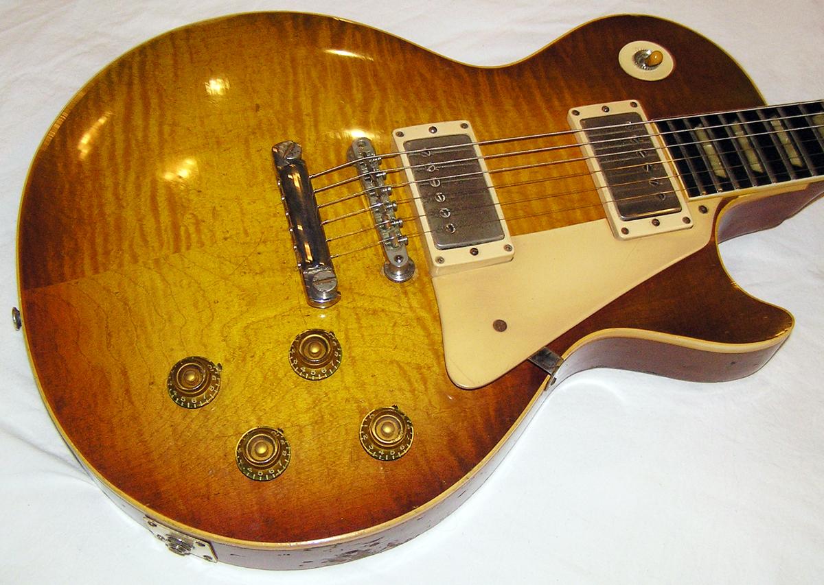 gibson les paul standard 1959 sunburst guitar for sale spc guitars. Black Bedroom Furniture Sets. Home Design Ideas