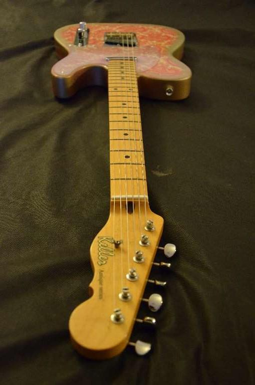 keller guitars pink paisley telecaster 2014 pink paisley guitar for sale keller guitars. Black Bedroom Furniture Sets. Home Design Ideas