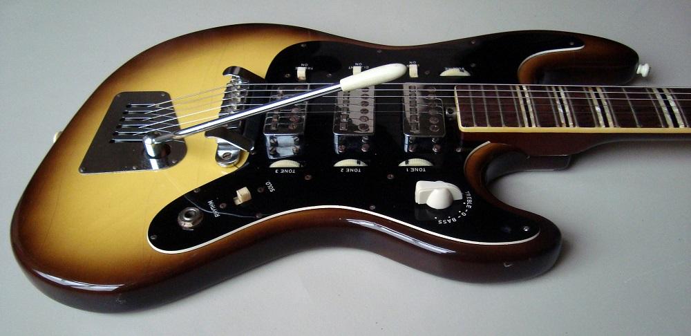 Hofner 176 Galaxie Galaxy 1964 Yellowburst Guitar For