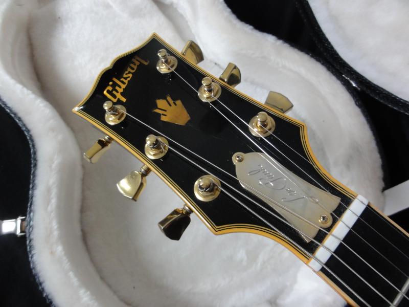 gibson les paul classic custom black beauty 2007 ebony guitar for sale rjv guitars. Black Bedroom Furniture Sets. Home Design Ideas