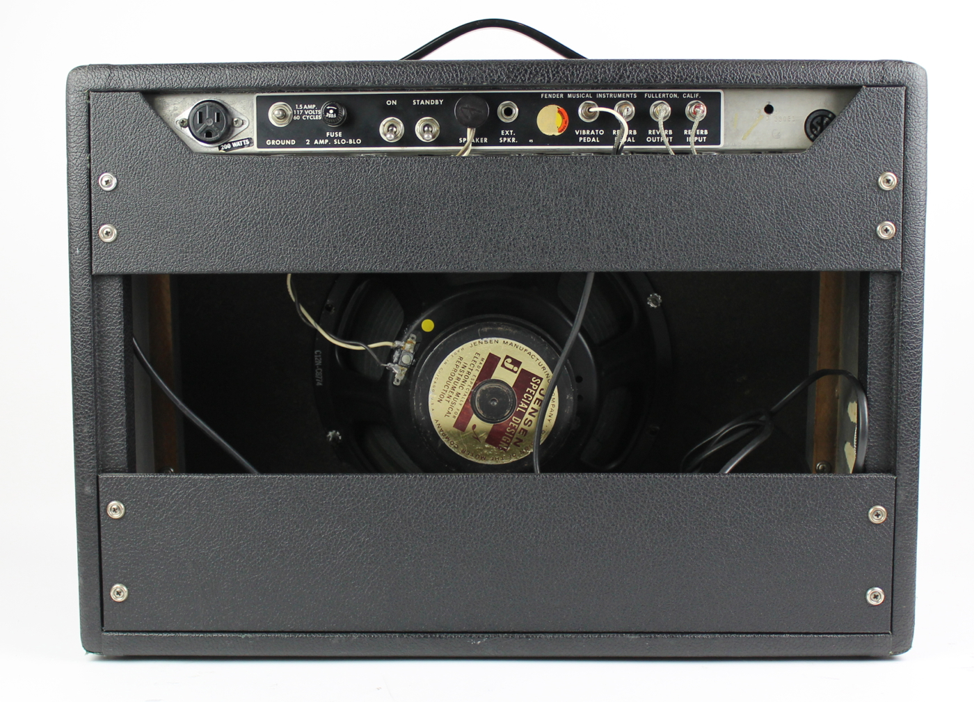 fender amp dating chassis