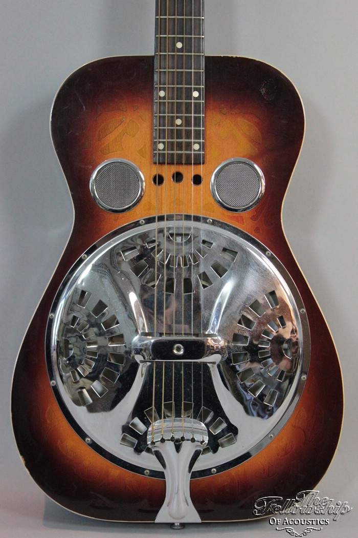 dobro 66 sandblasted model 1970 39 s guitar for sale the fellowship of acoustics. Black Bedroom Furniture Sets. Home Design Ideas