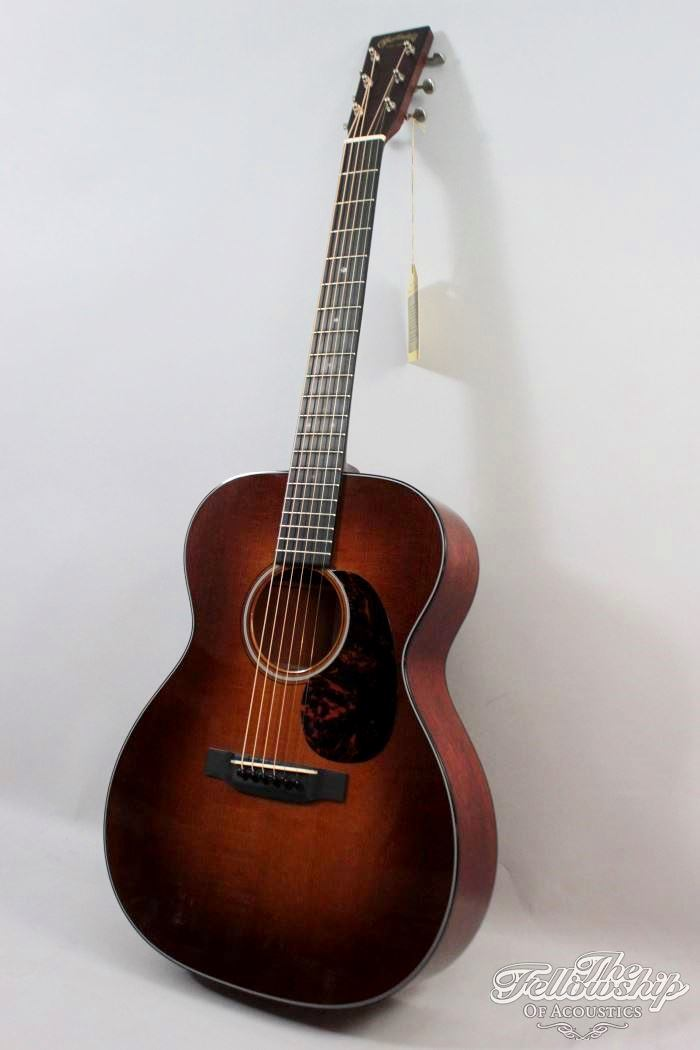 martin 000 18ge custom shop sunburst adirondack mahogany 2014 guitar for sale the fellowship. Black Bedroom Furniture Sets. Home Design Ideas