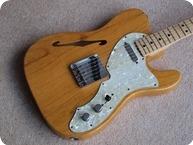 Fender Telecaster Thinline 1971 Blond