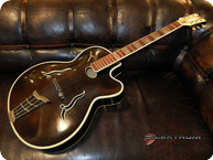 Hofner Jazz Guitar 1955 Black Brown