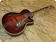 Hofner Jazz Guitar 1955 Brown