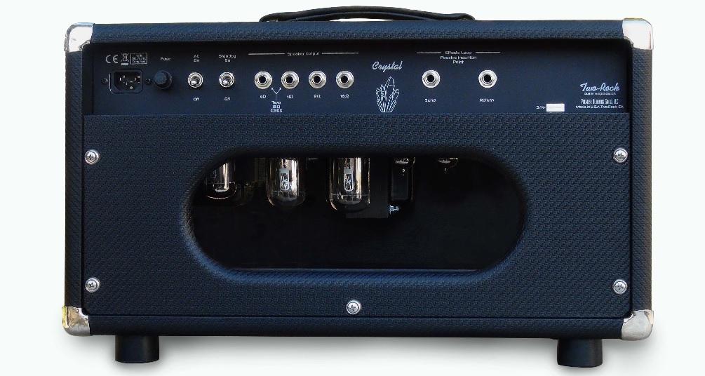 two rock crystal 100 amp head 6l6 2014 amp for sale max guitar. Black Bedroom Furniture Sets. Home Design Ideas