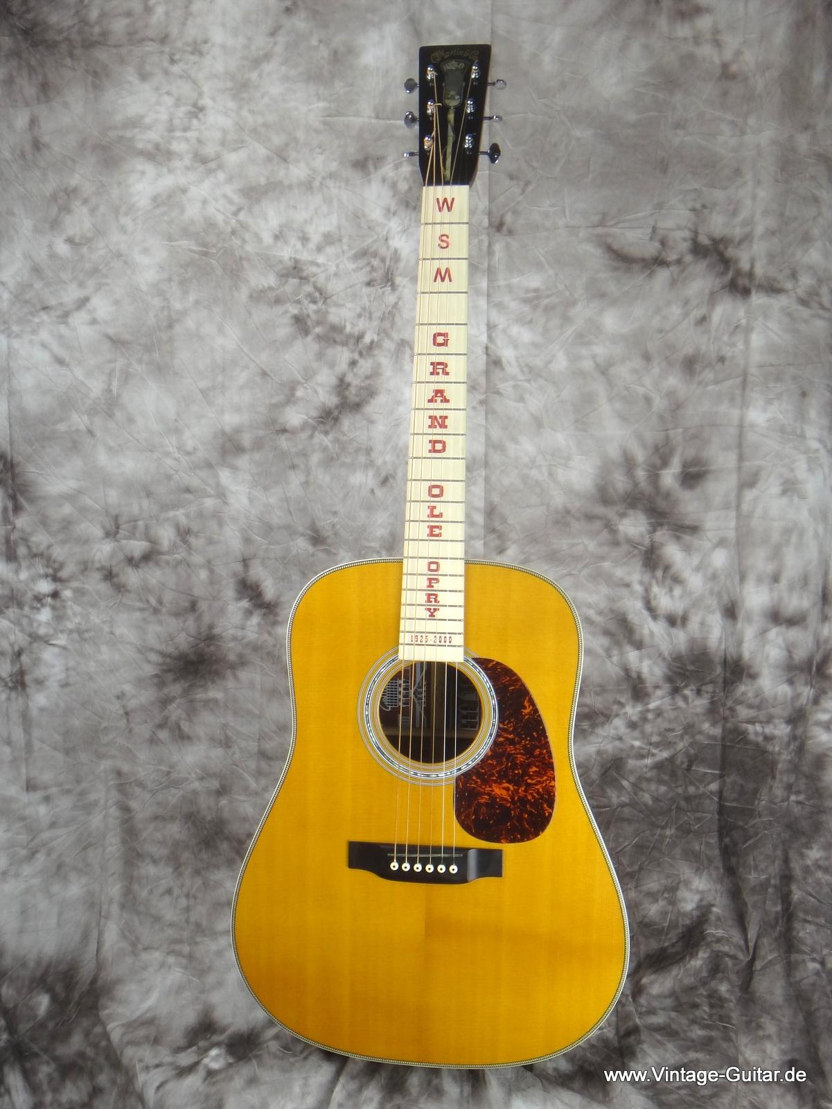 martin wsm grand ole opry 2000 natural guitar for sale vintage guitar oldenburg