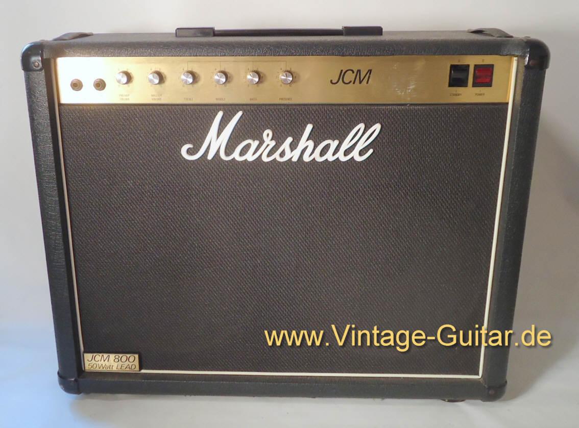 marshall combo jcm 800 1986 black amp for sale vintage guitar oldenburg. Black Bedroom Furniture Sets. Home Design Ideas
