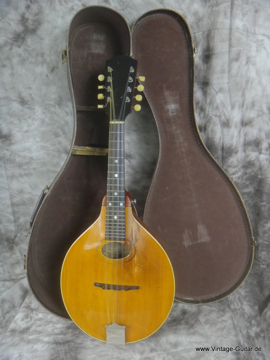 gibson mandolin a style 1915 natural guitar for sale vintage guitar oldenburg. Black Bedroom Furniture Sets. Home Design Ideas