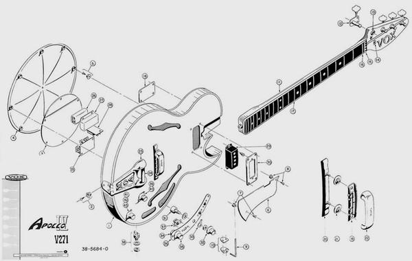 vox apollo iv 1966 sunburst bass for sale hendrix guitars