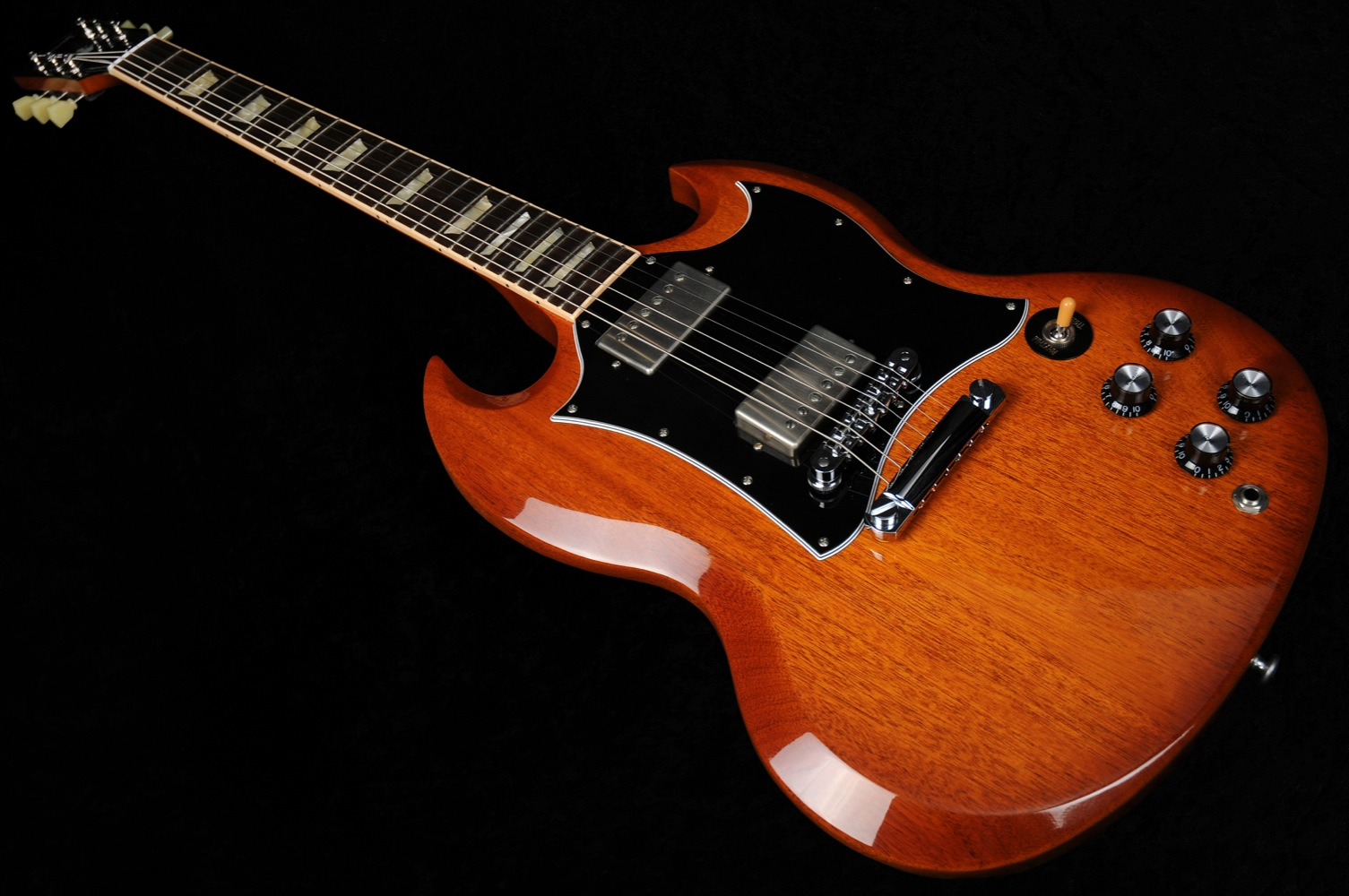 gibson sg standard 2012 natural burst with ohsc used 0 guitar for sale wildwire music and audio. Black Bedroom Furniture Sets. Home Design Ideas