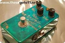 Bjf Emerald Green Distortion Machine 2014