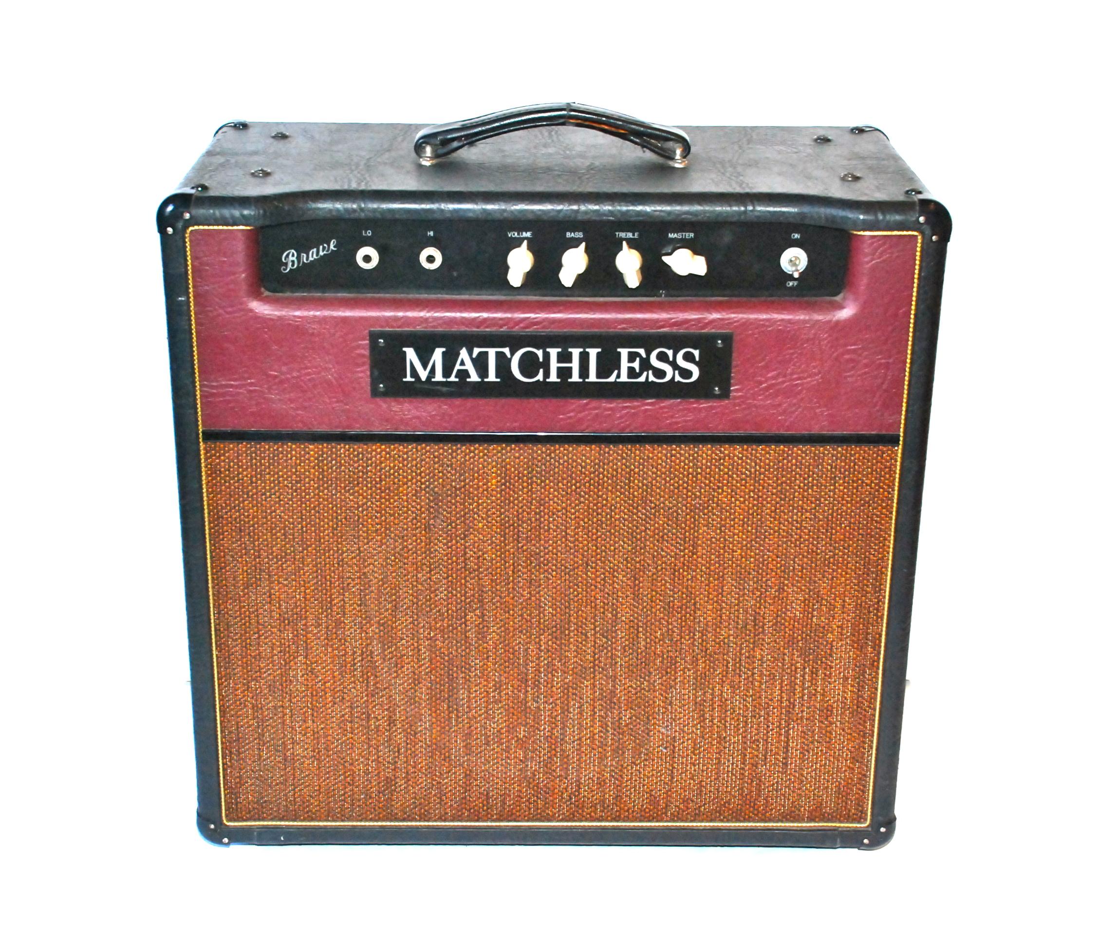 matchless amps brave 1995 amp for sale bass n guitar. Black Bedroom Furniture Sets. Home Design Ideas