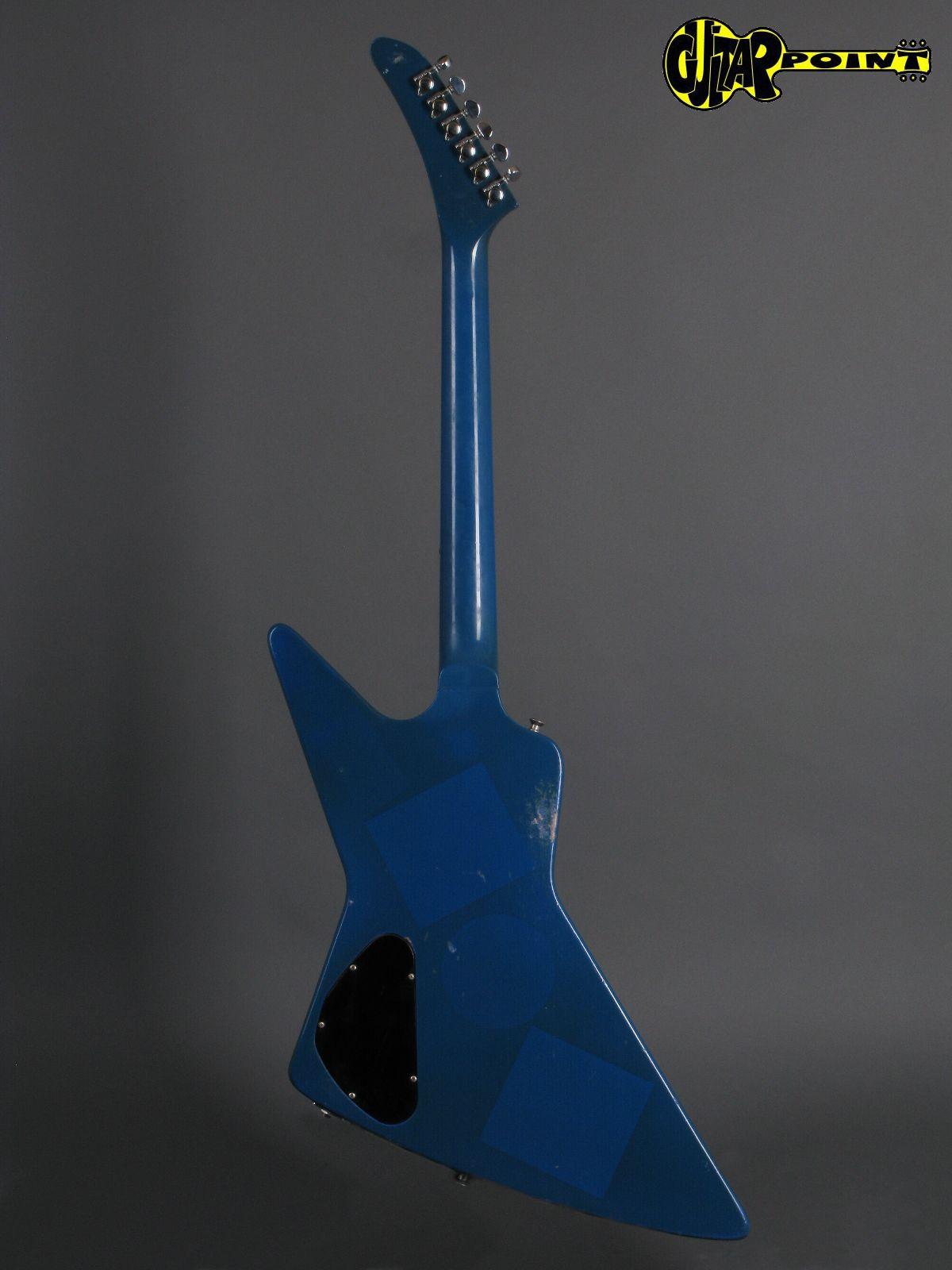 Gibson Explorer 1984 Union Jack Custom Graphic Guitar