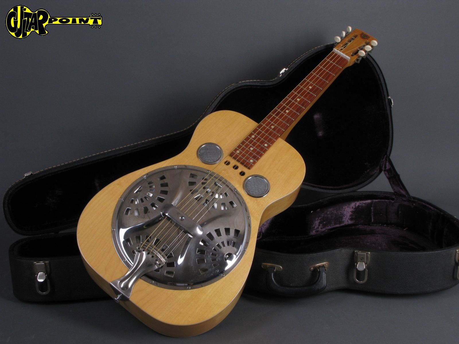 dobro model 60s 1975 natural guitar for sale guitarpoint. Black Bedroom Furniture Sets. Home Design Ideas