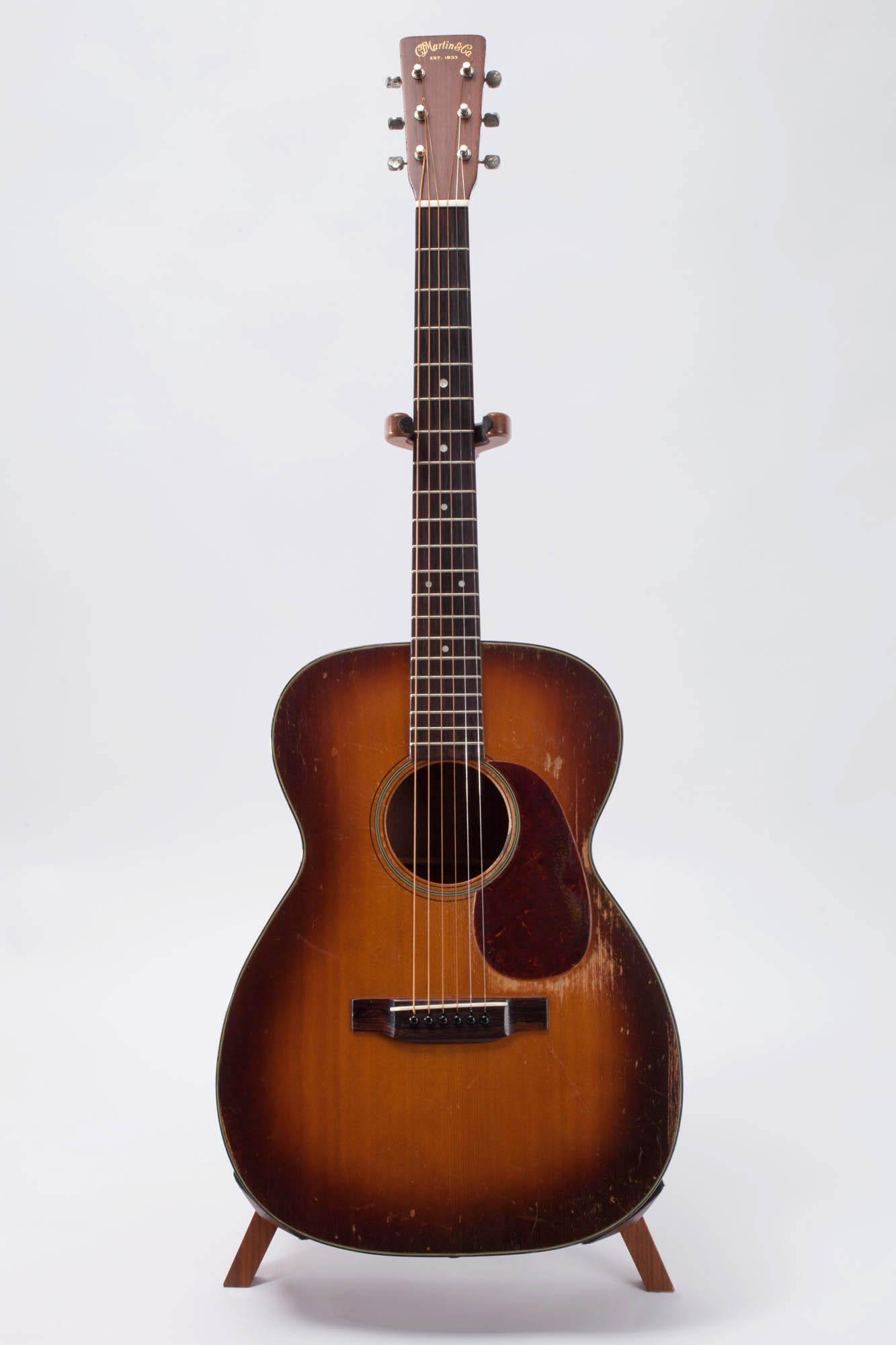 c f martin 00 18 1948 sunburst guitar for sale jet city guitars. Black Bedroom Furniture Sets. Home Design Ideas