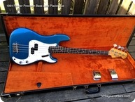 Fender Precision Bass 1964 Lake Placid Blue