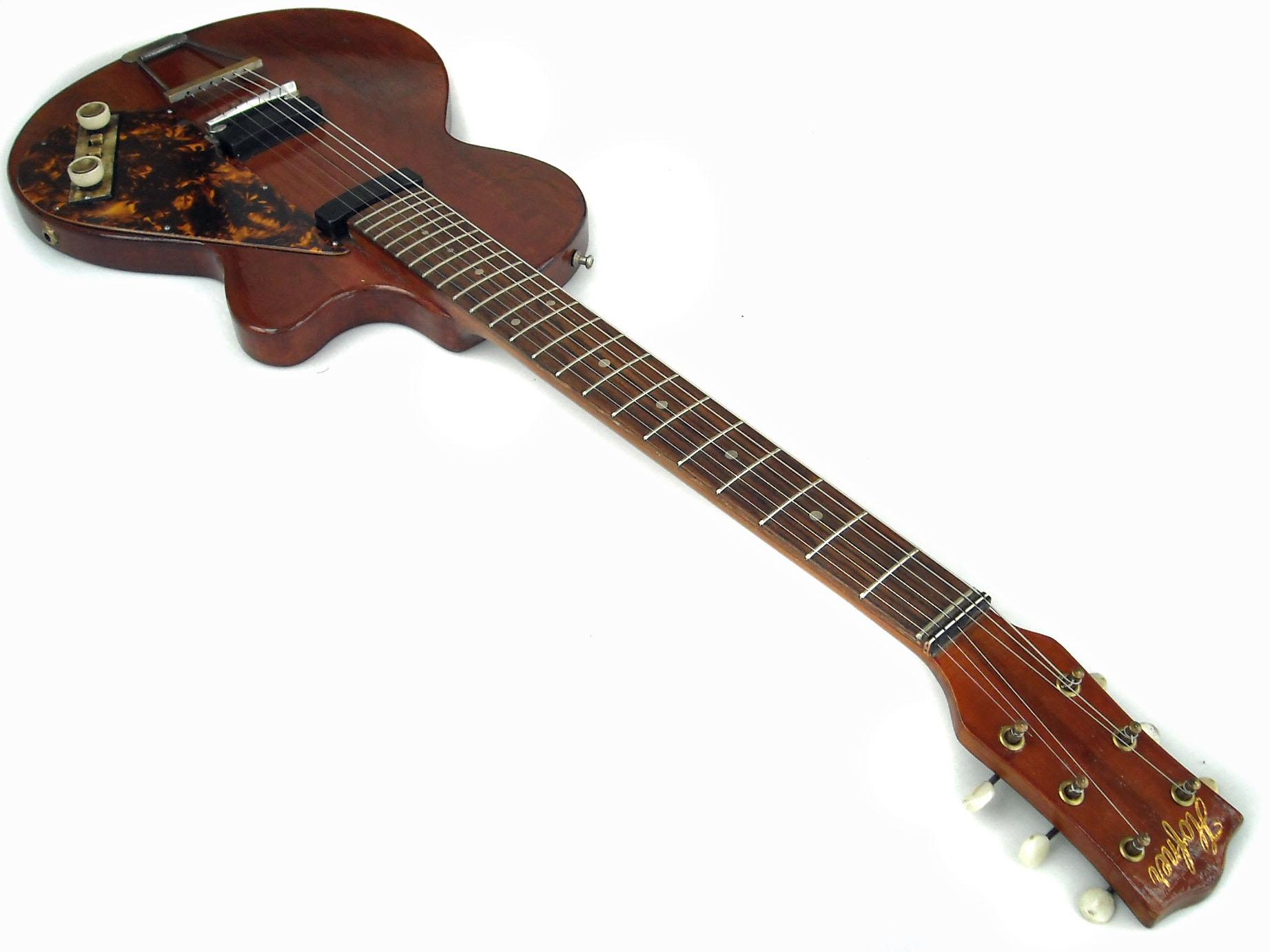 hofner 162 1959 natural guitar for sale wutzdog guitars. Black Bedroom Furniture Sets. Home Design Ideas