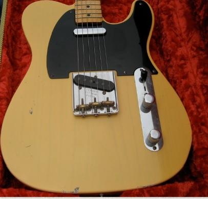 fender telecaster 52 relic 2014 honey blond guitar for sale pro guitar center. Black Bedroom Furniture Sets. Home Design Ideas