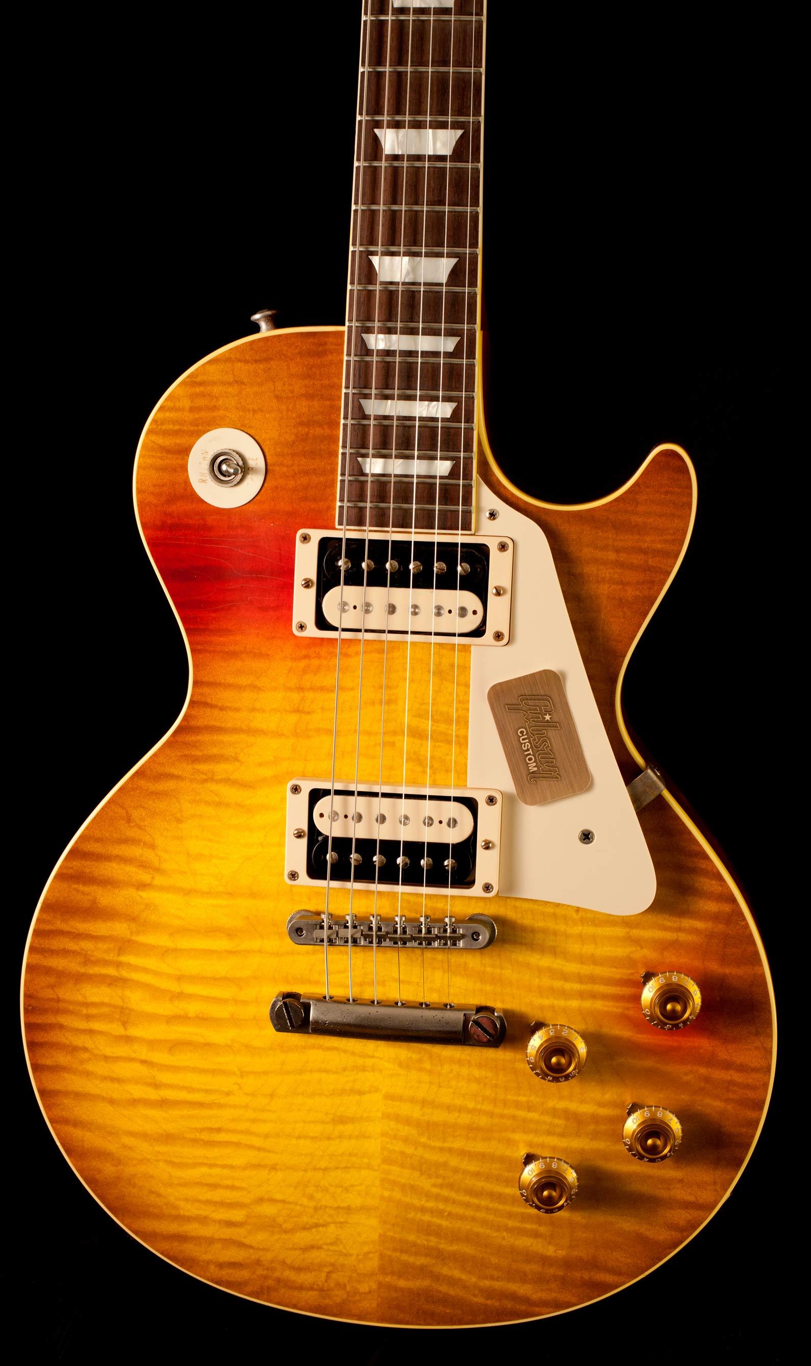 gibson les paul cc 16 ed king 1959 aged 2014 guitar for sale gitarren total. Black Bedroom Furniture Sets. Home Design Ideas