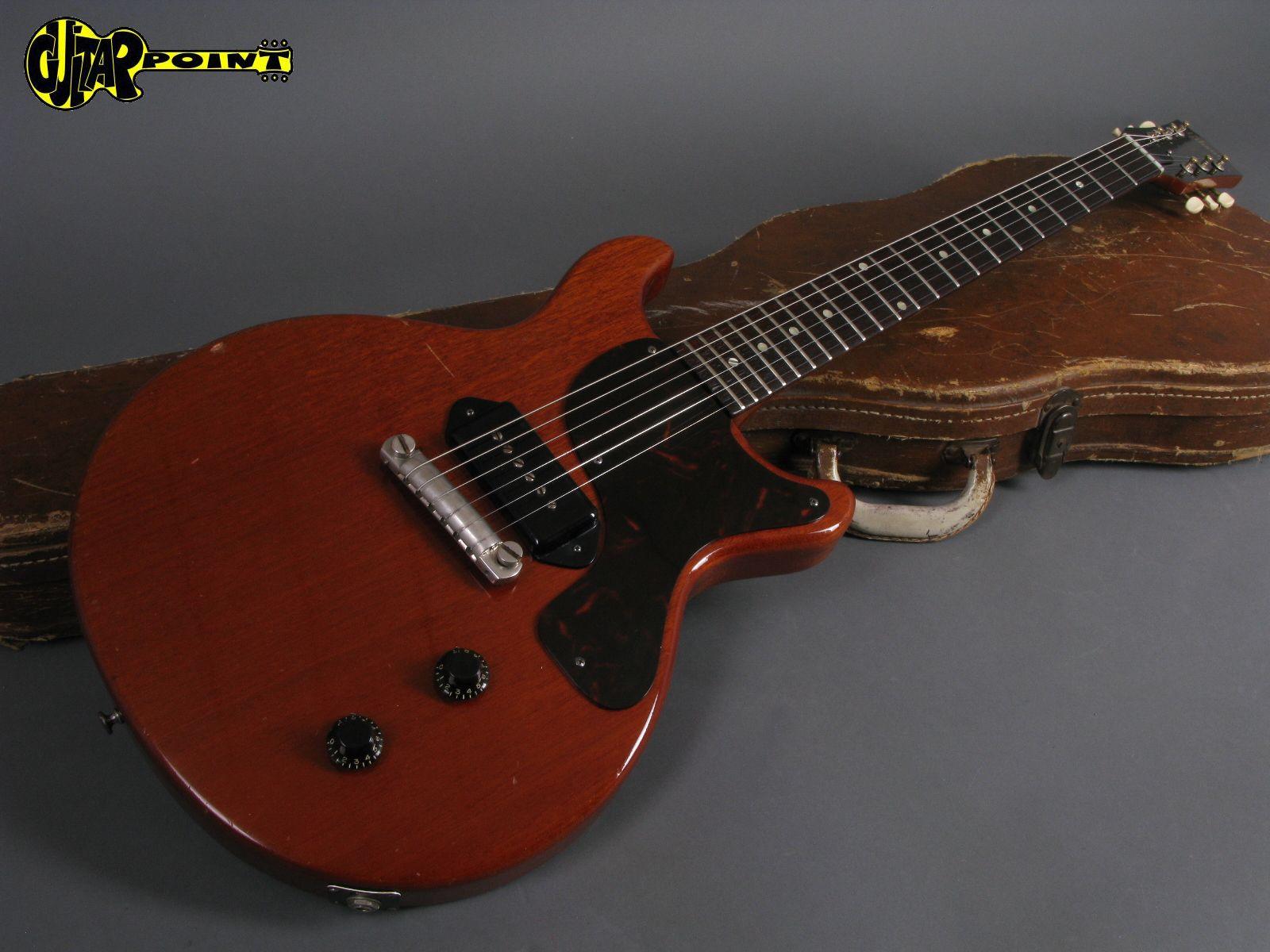gibson les paul junior dc 1960 cherry guitar for sale. Black Bedroom Furniture Sets. Home Design Ideas