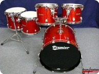 Premier Classic Maple Shell Set Red Glitter wrap