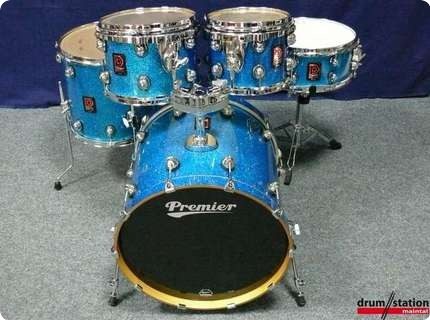 premier genista maple shell set blue sparkle 2010 39 s drum for sale drum station maintal. Black Bedroom Furniture Sets. Home Design Ideas