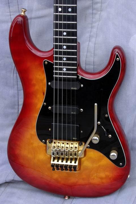 Valley Arts Steve Lukather Model With Signature 1991 Sunburst Guitar For Sale Hendrix Guitars