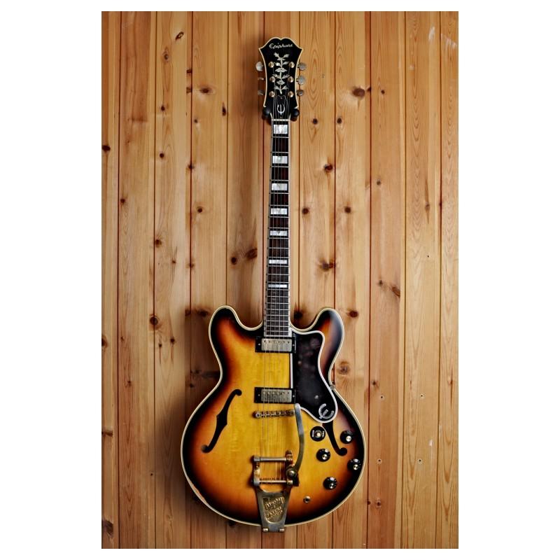 epiphone sheraton e212t 1967 sunburst guitar for sale dirk witte music store. Black Bedroom Furniture Sets. Home Design Ideas