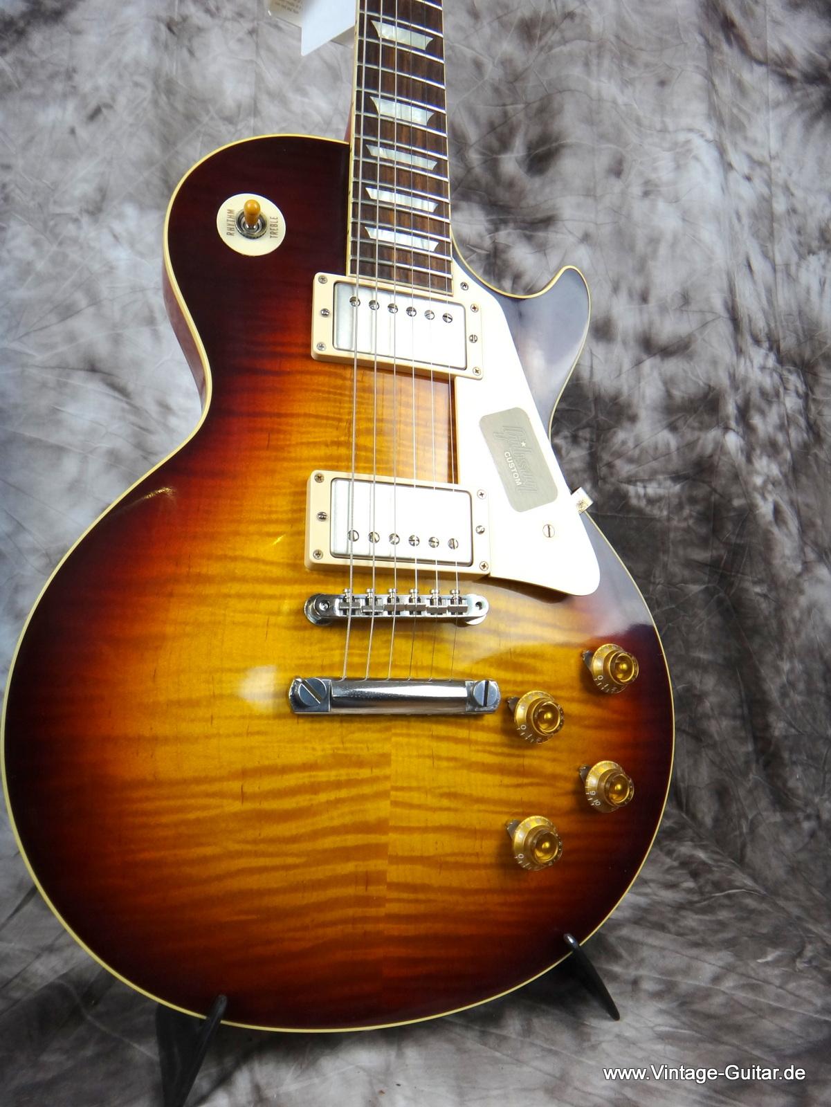 gibson les paul 1959 reissue 2013 faded tobacco sunburst guitar for sale vintage guitar oldenburg. Black Bedroom Furniture Sets. Home Design Ideas