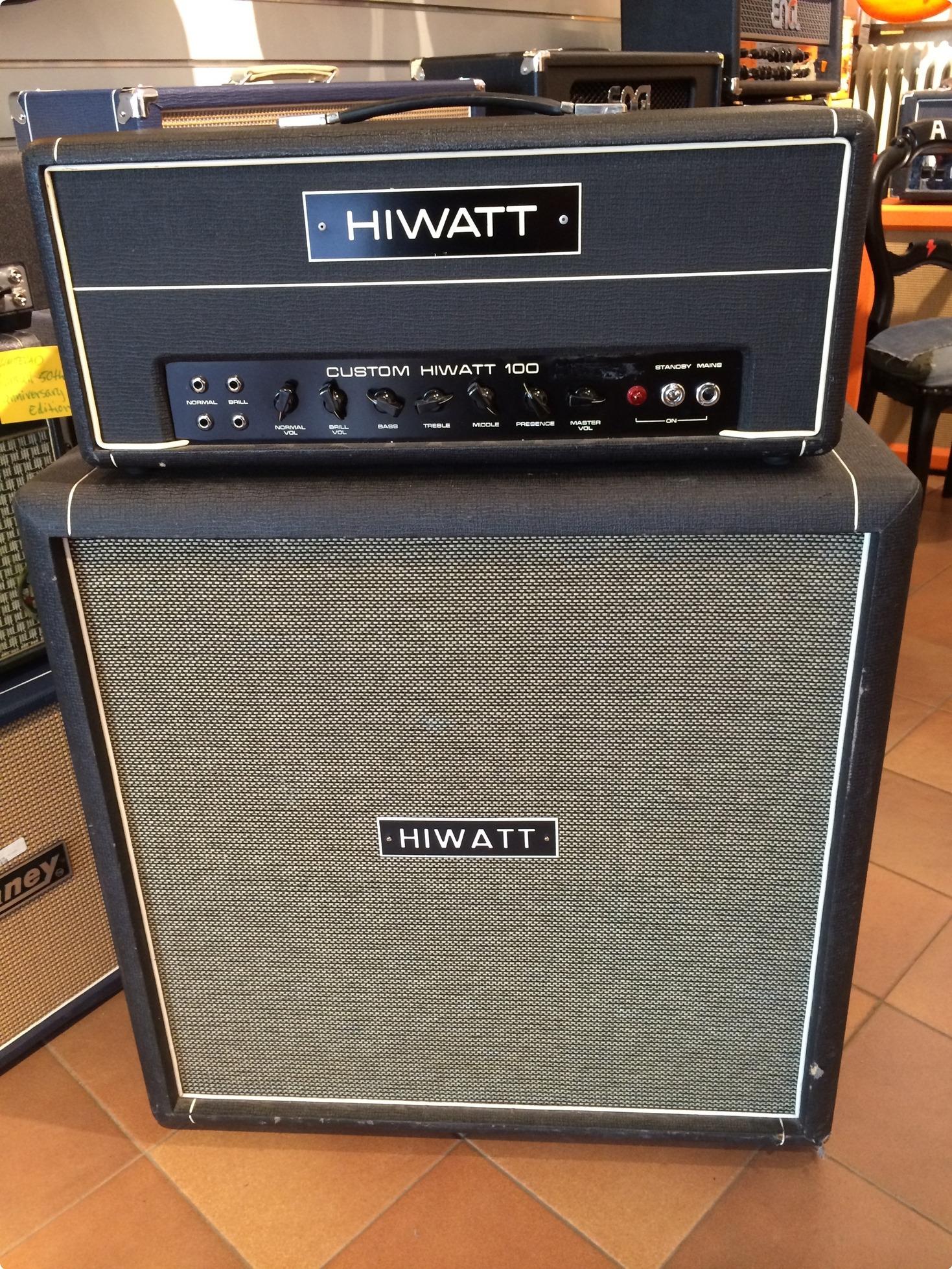 hiwatt dr 103 from 1970 1970 black amp for sale freddans musik. Black Bedroom Furniture Sets. Home Design Ideas