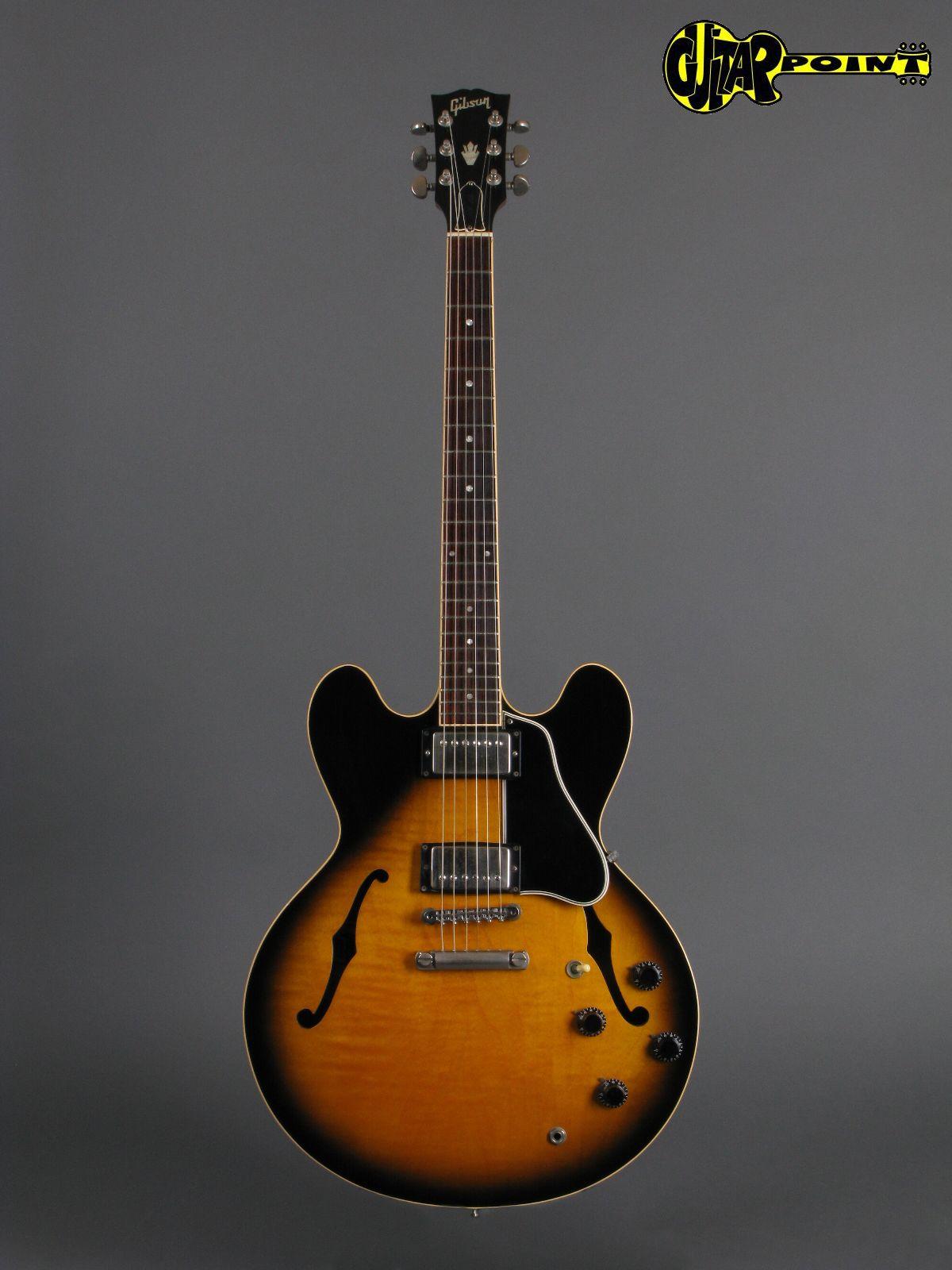 gibson es 335 1993 vintage sunburst guitar for sale guitarpoint. Black Bedroom Furniture Sets. Home Design Ideas