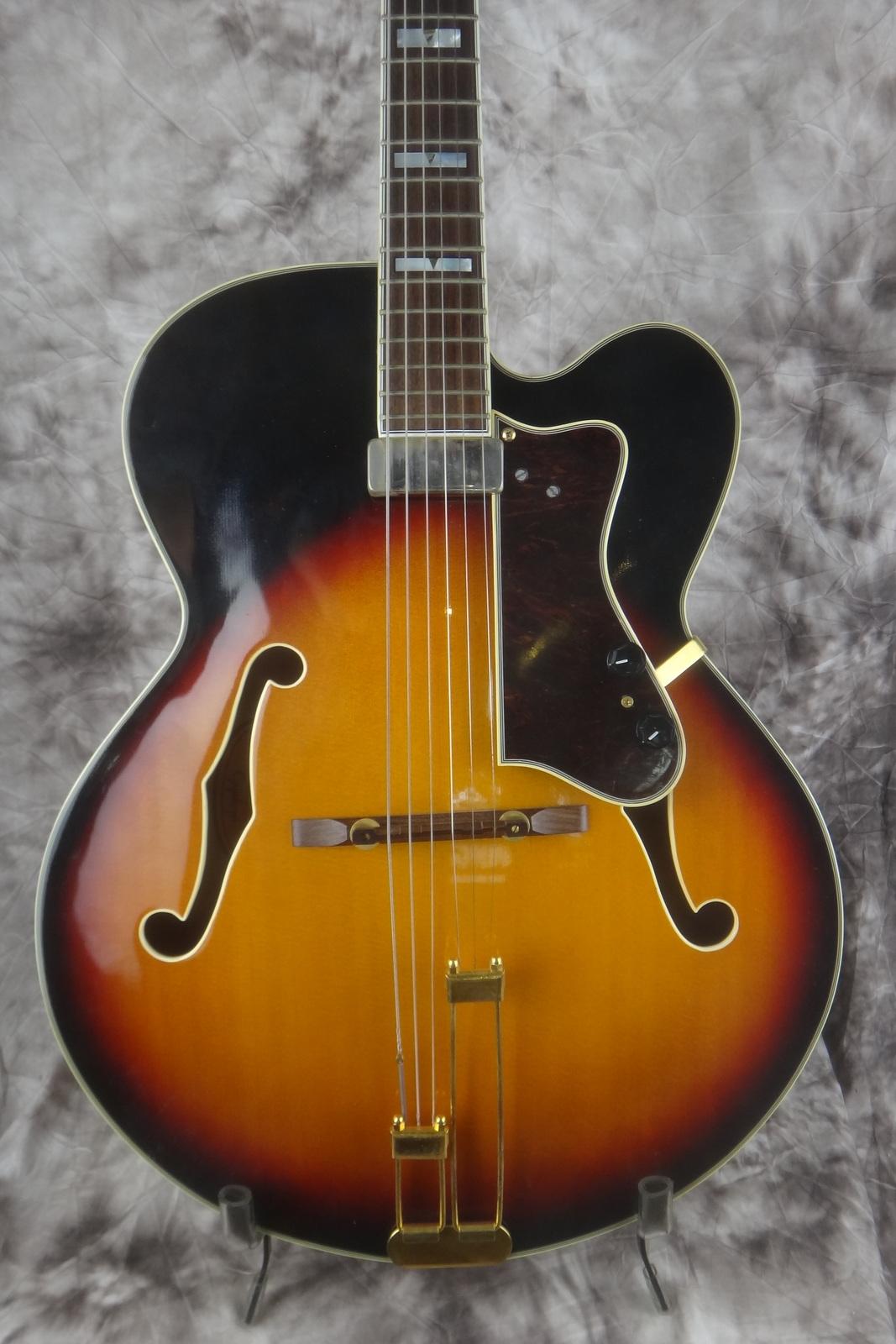 epiphone emperor regent 1990 39 s sunburst guitar for sale vintage guitar oldenburg. Black Bedroom Furniture Sets. Home Design Ideas