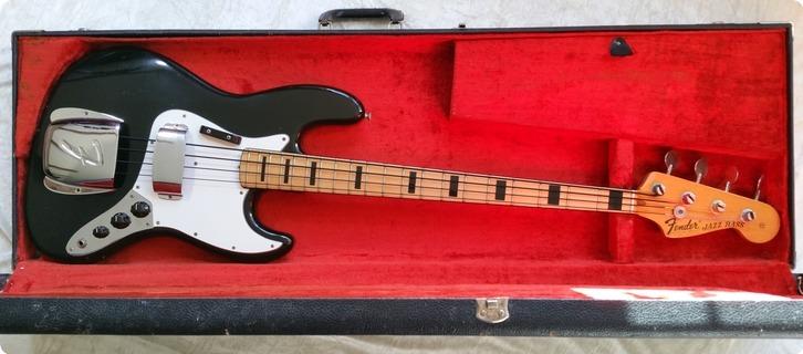 Fender Jazz Bass 1974 Black