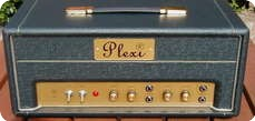 Cornell Plexi 1820 2011 Green On Black Tolex 