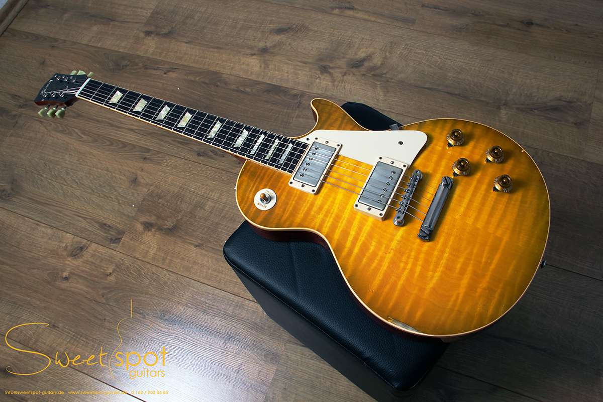 gibson les paul custom historic 1959 collectors choice 2 goldie murphy aged r9 2011 guitar for. Black Bedroom Furniture Sets. Home Design Ideas