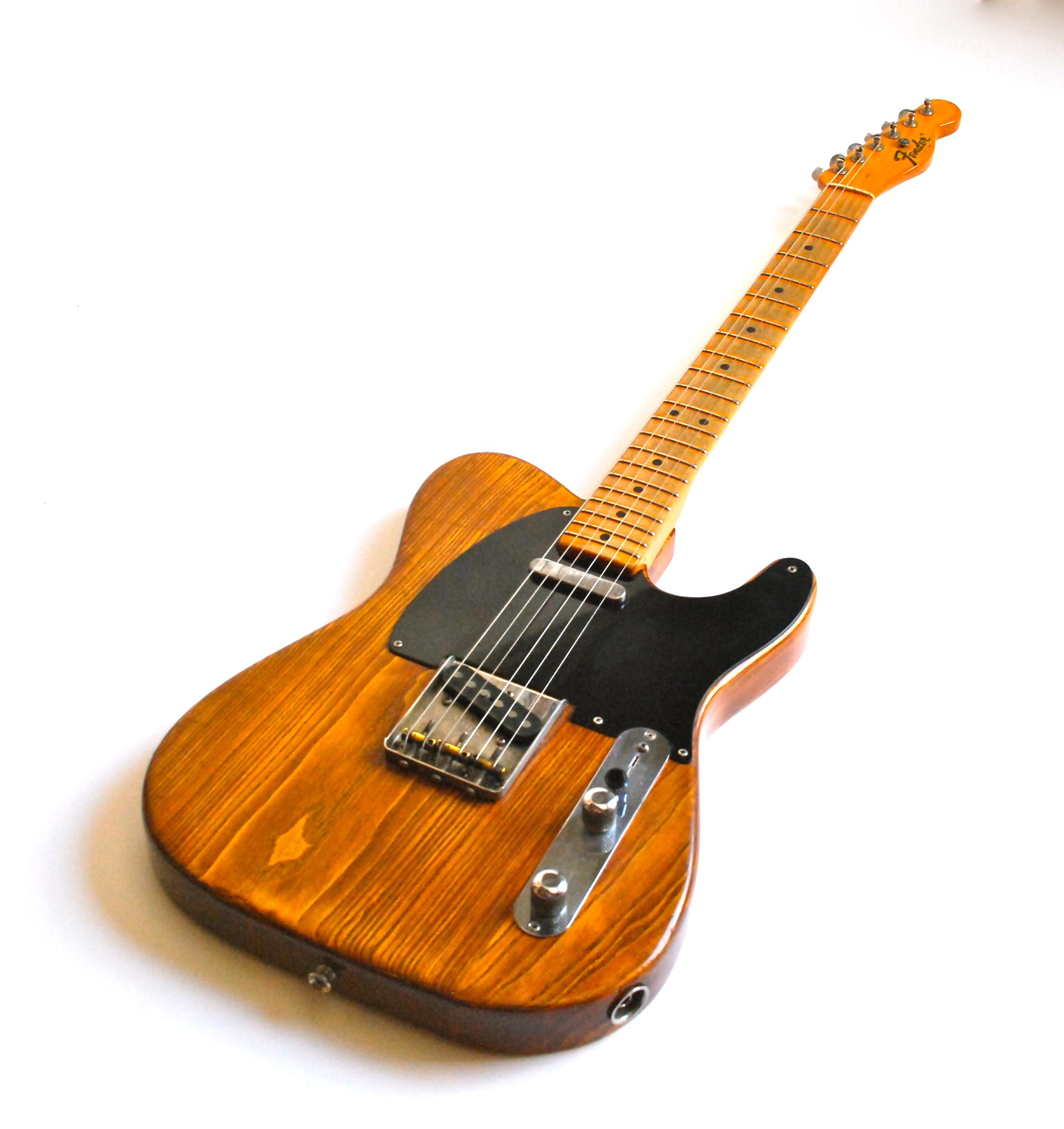 Fender Telecaster 1951 Natural Guitar For Sale Bass N Guitar
