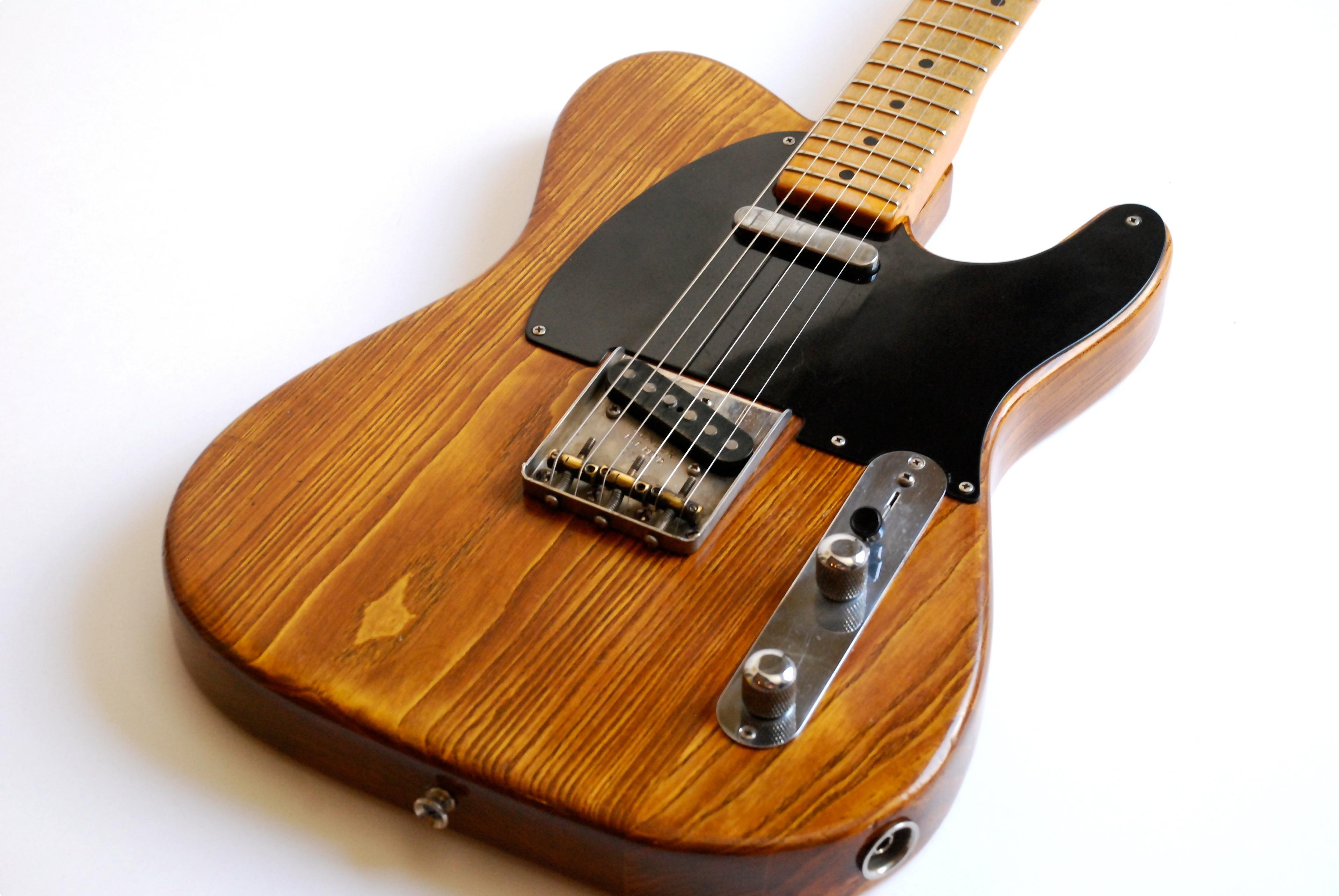 fender telecaster 1951 natural guitar for sale bass n guitar. Black Bedroom Furniture Sets. Home Design Ideas