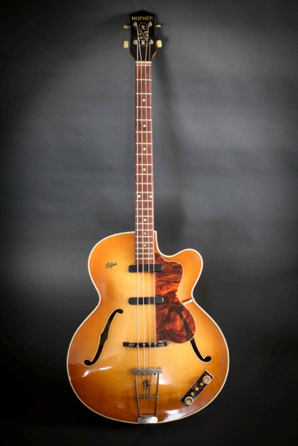 Hofner 500/5 Stu Sutcliffe Bass 1959 Sunburst Bass For ...